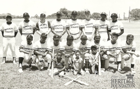 Photo of the Imperial Pirates baseball team in the 1970's