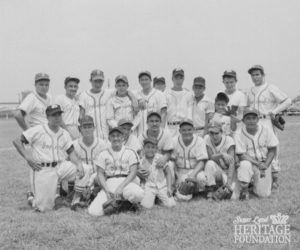 Photo of Imperials baseball team in the 1950s